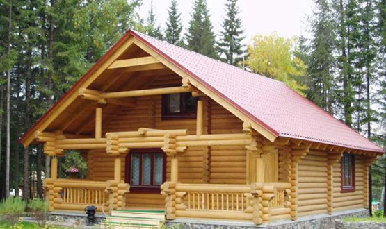 Casas de madera tronco redondo oferta precio comprar - Casas de troncos redondos ...
